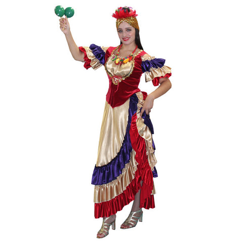 Classic Carmen Miranda in Theatrical Costumes from BuffaloBreath at Buffalo Breath Costumes