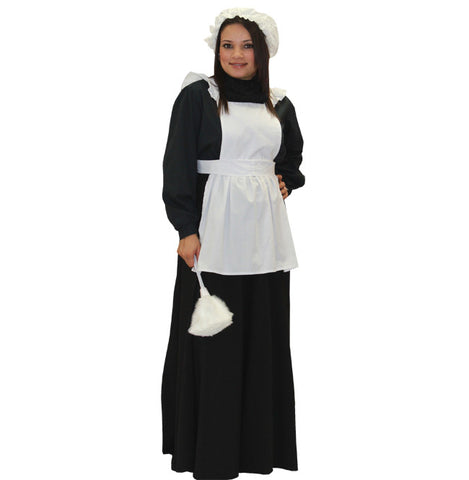 English Maid deluxe costume rental or purchase at Buffalo Breath Costumes in San Diego
