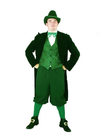 Full Emerald Leprechaun in Theatrical Costumes from BuffaloBreath at Buffalo Breath Costumes
