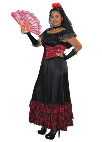 Senorita (Corset 2) in Theatrical Costumes from BuffaloBreath at Buffalo Breath Costumes