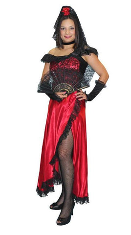 Senorita (Corset) in Theatrical Costumes from BuffaloBreath at Buffalo Breath Costumes