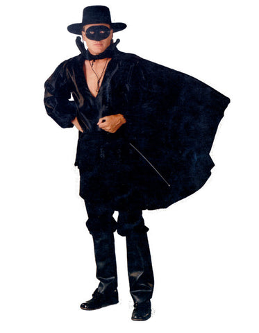 Zorro (Basic) in Theatrical Costumes from BuffaloBreath at Buffalo Breath Costumes