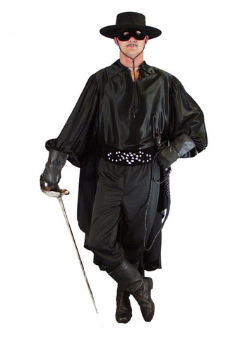 Zorro (Deluxe) in Theatrical Costumes from BuffaloBreath at Buffalo Breath Costumes