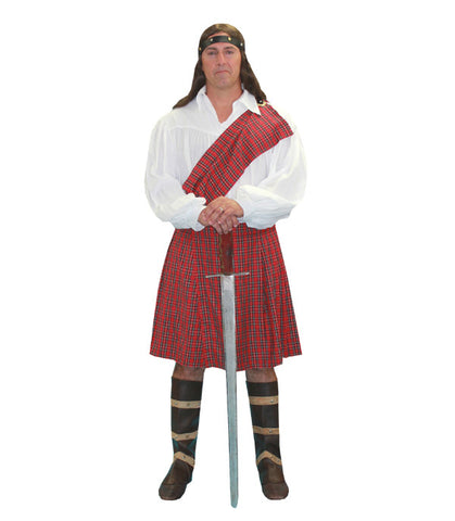 Braveheart in Theatrical Costumes from BuffaloBreath at Buffalo Breath Costumes