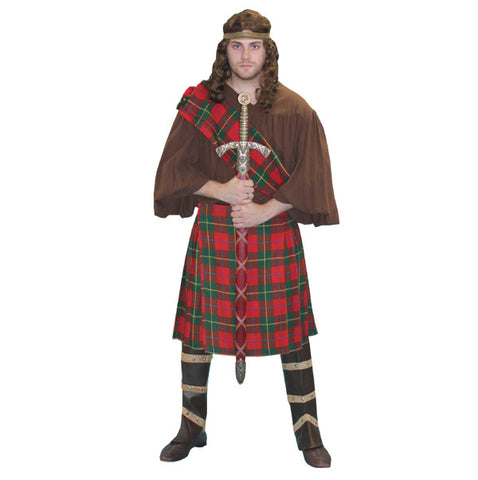 Scottish Warrior/Braveheart in Theatrical Costumes from BuffaloBreath at Buffalo Breath Costumes