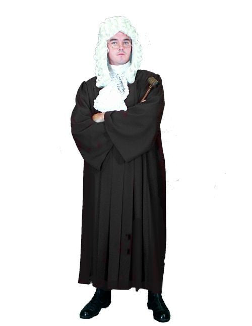 English Judge costume rental or purchase at Buffalo Breath Costumes