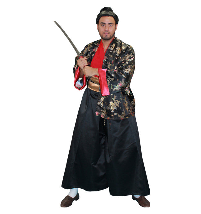 Samurai in Theatrical Costumes from BuffaloBreath at Buffalo Breath Costumes