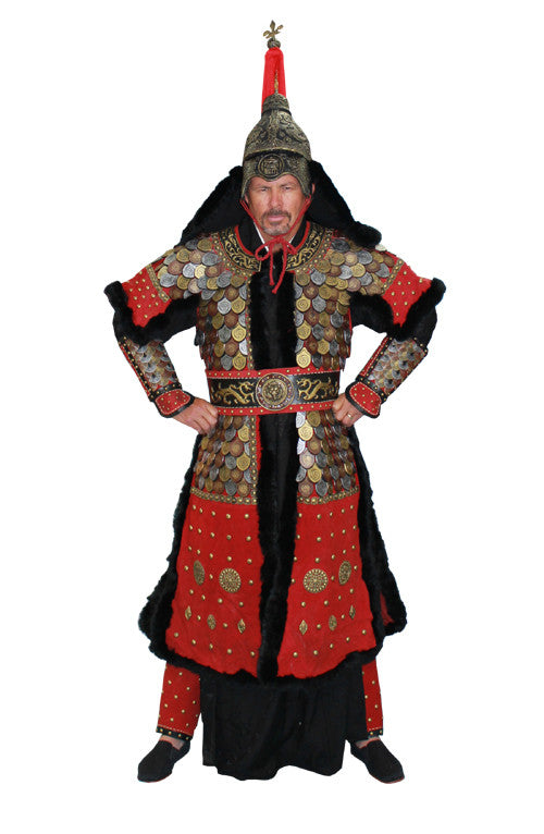 Deluxe Genghis Khan in Theatrical Costumes from BuffaloBreath at Buffalo Breath Costumes