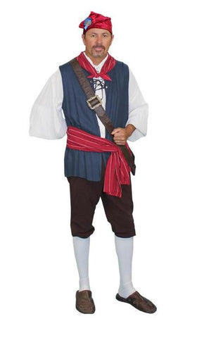 French Revolutionary Man deluxe costume rental or purchase at Buffalo Breath Costumes