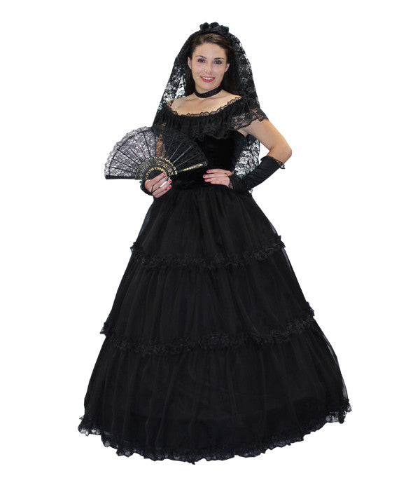 Senorita (deluxe black) in Theatrical Costumes from BuffaloBreath at Buffalo Breath Costumes