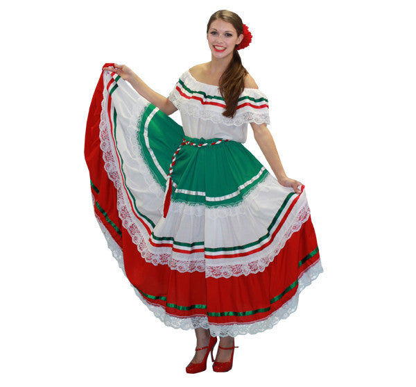 Folklorico Mexican Dancer Buffalo Breath Costumes Theatrical Buffalobreath Dance Sale