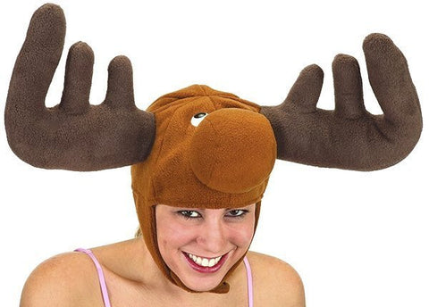 Velvet Moose Hat in Accessories from JACOBSON at Buffalo Breath Costumes