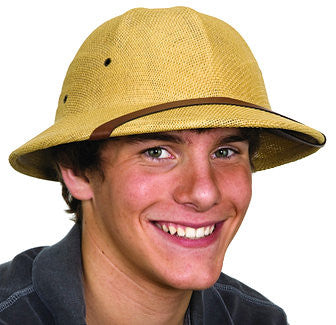 Pith Helmet Tan in Accessories from JACOBSON at Buffalo Breath Costumes