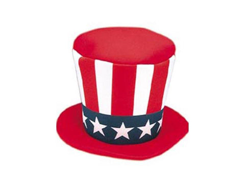 Foam Top Hat Uncle Sam in Accessories from JACOBSON at Buffalo Breath Costumes