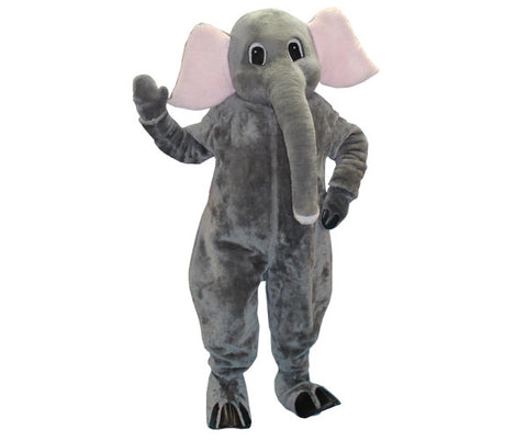 Elephant animal mascot costume rental from Buffalo Breath Costumes