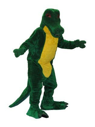 Crocodile mascot costume rental at Buffalo Breath Costumes