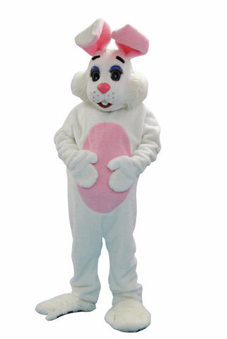 Flopsy Easter bunny rabbit mascot costume rental or purchase at Buffalo Breath Costumes