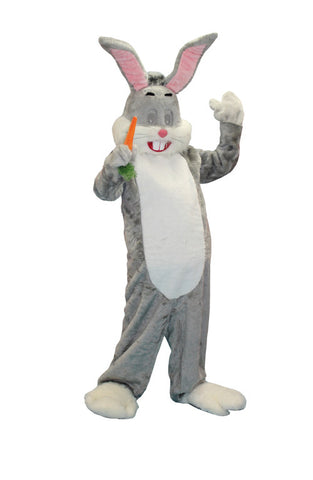 Bugsy Bunny- Grey in Theatrical Costumes from BuffaloBreath at Buffalo Breath Costumes