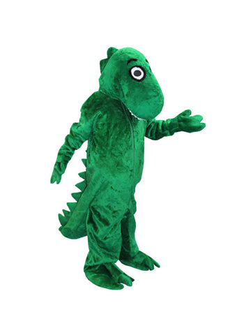Dopey Green Dino in Theatrical Costumes from BuffaloBreath at Buffalo Breath Costumes
