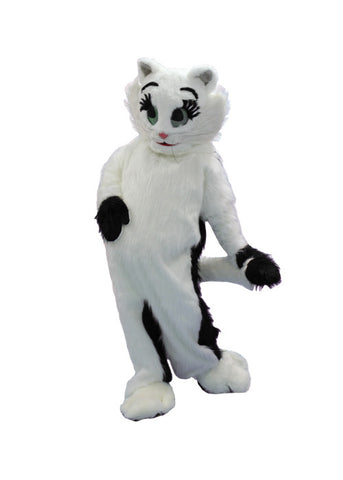 Black and White Cat in Theatrical Costumes from BuffaloBreath at Buffalo Breath Costumes