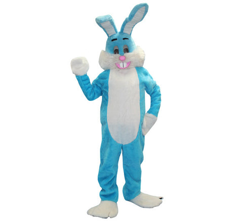 Bugsy Bunny- Blue in Theatrical Costumes from BuffaloBreath at Buffalo Breath Costumes