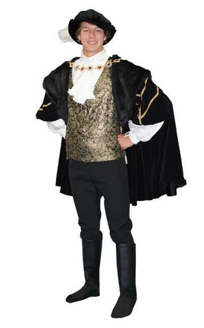 British Nobility- Baron in Theatrical Costumes from BuffaloBreath at Buffalo Breath Costumes