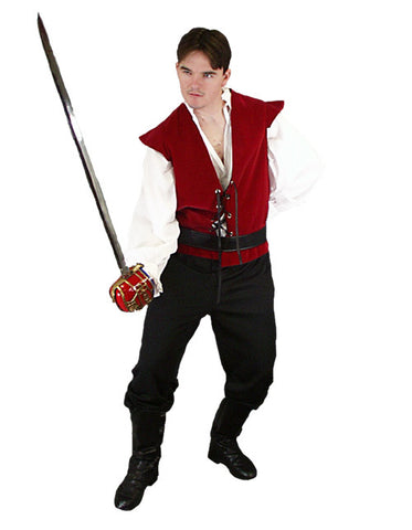 Versatile Actor- Romeo/Hamlet/Pirate in Theatrical Costumes from BuffaloBreath at Buffalo Breath Costumes