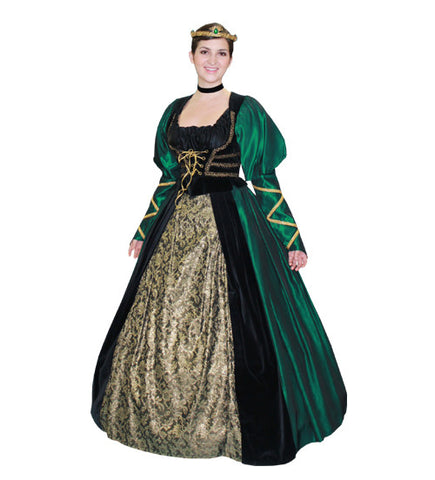 Queen Elizabeth (Deluxe) in Theatrical Costumes from BuffaloBreath at Buffalo Breath Costumes