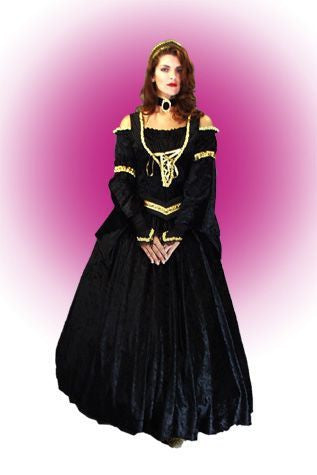 Black Elegant Queen in Theatrical Costumes from BuffaloBreath at Buffalo Breath Costumes