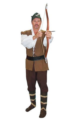 Robin Hood costume rental at Buffalo Breath Costumes in San Diego