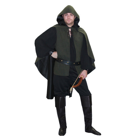 Robin Hood (dark) in Theatrical Costumes from BuffaloBreath at Buffalo Breath Costumes