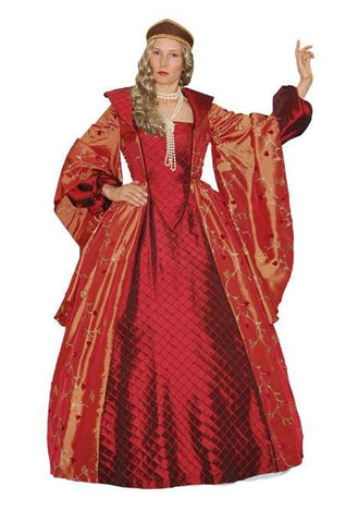 Burgundy Duchess in Theatrical Costumes from BuffaloBreath at Buffalo Breath Costumes