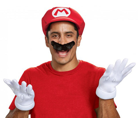 World of Nintendo - Super Mario accessory kit by Disguise at Buffalo Breath Costumes