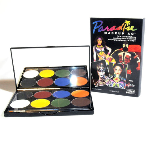 Paradise Makeup AQ 8-colour palette