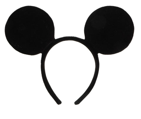 Disney Mickey Mouse Ears Headband by Elope 100700 at Buffalo Breath Costumes
