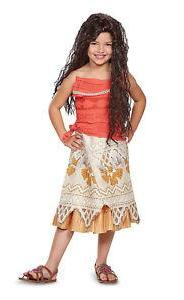 Moana child size costume by Disguise at Buffalo Breath Costumes
