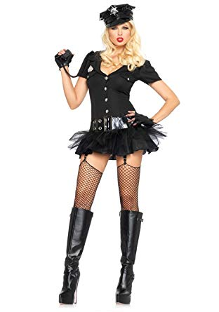 Officer Bombshell costume by Leg Avenue at Buffalo Breath Costumes