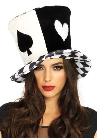 Oversized Mad Hatter Top Hat by Leg Avenue A2803 at Buffalo Breath Costumes