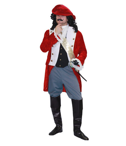Captain Hook in Theatrical Costumes from BuffaloBreath at Buffalo Breath Costumes