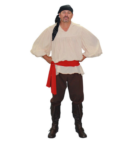Traditional Pirate in Theatrical Costumes from BuffaloBreath at Buffalo Breath Costumes