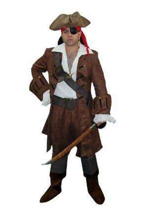Deluxe Pirate costume rental at Buffalo Breath Costumes