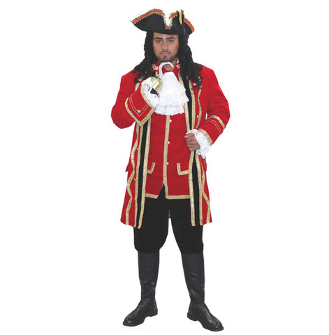 Captain Hook Deluxe in Theatrical Costumes from BuffaloBreath at Buffalo Breath Costumes