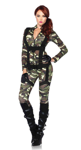 Pretty Paratrooper sexy female military costume by Leg Avenue at Buffalo Breath Costumes in San Diego