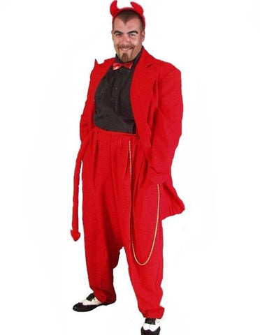 Devil Red Zoot Suit in Theatrical Costumes from BuffaloBreath at Buffalo Breath Costumes
