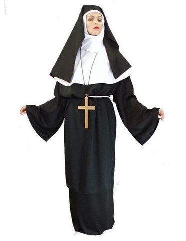 Mother Superior deluxe costume rental or purchase at Buffalo Breath Costumes in San Diego