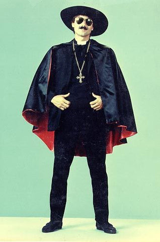 Father Guido 1970's deluxe priest costume rental or purchase at Buffalo Breath Costumes
