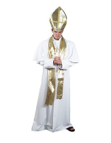Pope deluxe costume rental or purchase at Buffalo Breath Costumes in San Diego