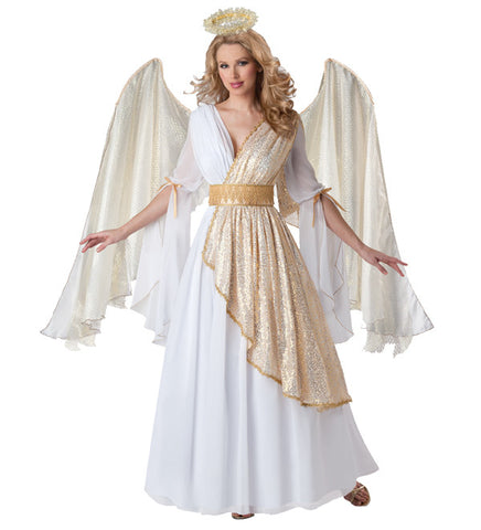 Angel with Gold Accents in Theatrical Costumes from BuffaloBreath at Buffalo Breath Costumes