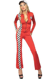 Red Racer sexy racecar driver costume by Rubie's Secret Wishes at Buffalo Breath Costumes