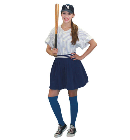 League Of Her Own Female Baseball Player in Theatrical Costumes from BuffaloBreath at Buffalo Breath Costumes